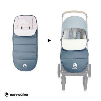 Easywalker - Mosey+ Śpiworek do Wózka na Zimę Uniwersalny Steel Blue