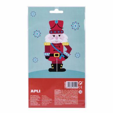 Apli Kids - Świąteczne Naklejki Śnieżynki