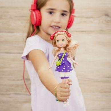 Apli Kids - Zestaw do Stylizacji z Lalką i Masą Plastyczną Blondynka