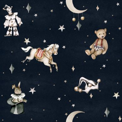 Dekornik - Tapeta French Characters in the Night Sky Toys From the Attic