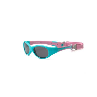 Real Kids - Okularki dla Dzieci Explorer Polarized Aqua and Pink 0+