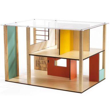 Djeco - Drewniany Domek dla Lalek Cubic
