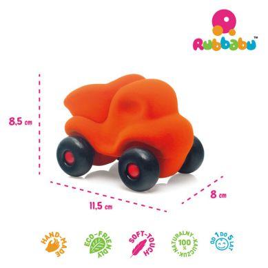 Rubbabu - Wywrotka Sensoryczna Pomarańczowa