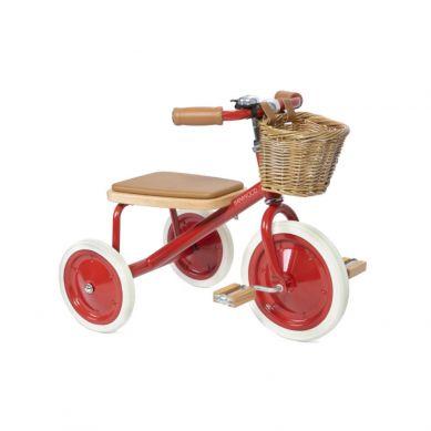 Banwood - Rowerek Trójkołowy Trike Red 2+