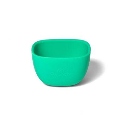 Avanchy - La Petite Silikonowa Miseczka dla Dziecka 4m+ Green