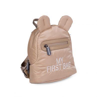 Childhome - Plecak Dziecięcy My First Bag Pikowany Beżowy