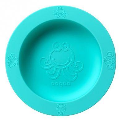 Oogaa - Silikonowa Miseczka z Pokrywką Jewel Blue Bowl & Lid