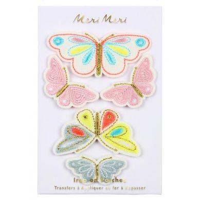 Meri Meri - Zestaw Naprasowanek Motyle