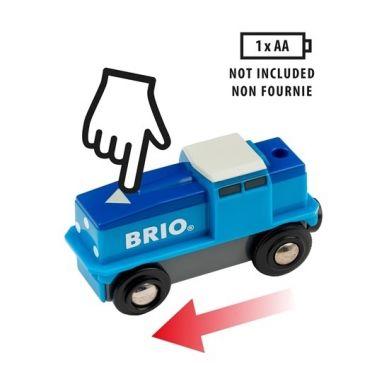 BRIO - World Lokomotywa Cargo na Baterie