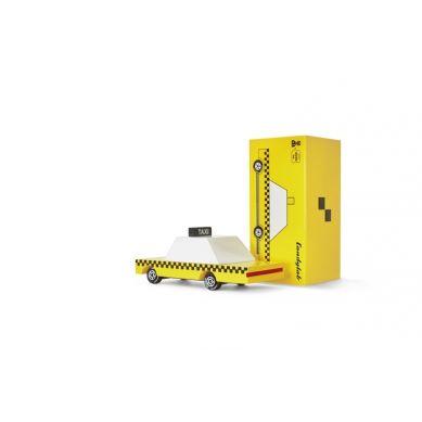 Candylab - Drewniany Samochód Yellow Taxi
