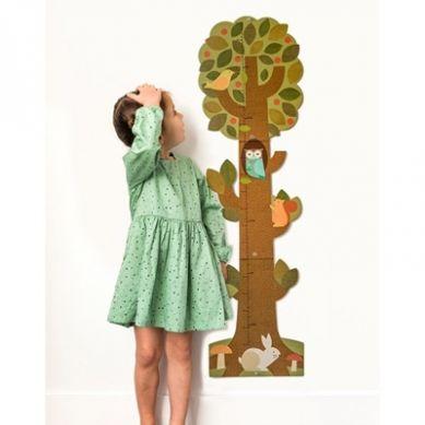 Petit Collage - Miarka Wzrostu Drzewo