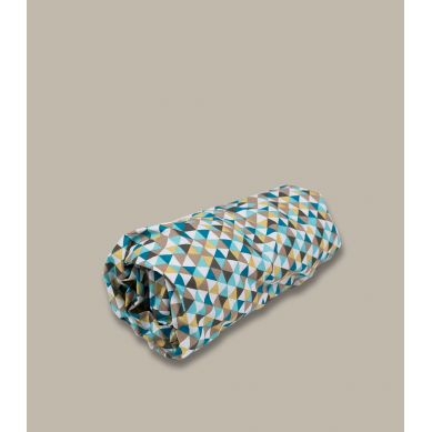 Muzpony - Prześcieradło do Łóżeczka Cyrk Kolorowe Trójkąty 140x70