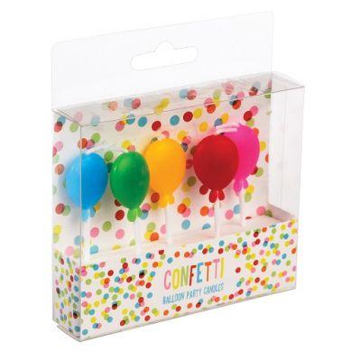 Rex - Zestaw Świeczek Urodzinowych Balloon