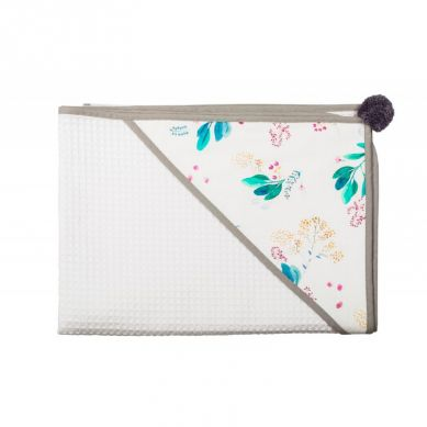 Malomi Kids - Ręcznik Garden Blushl 110x110 Grey