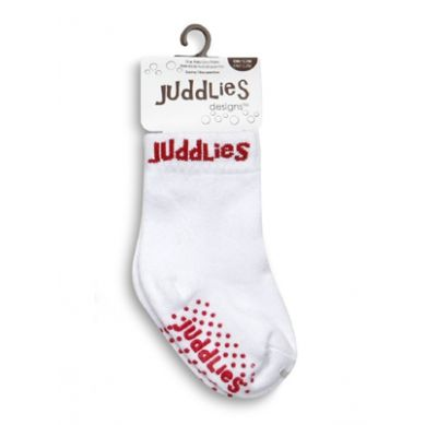 Juddlies - Skarpetki White/Red 12-24m