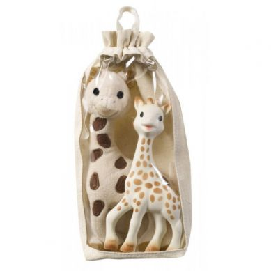Vulli - Żyrafa Sophie z Pluszową Maskotką