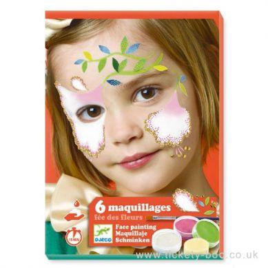 Djeco - Farby do Malowania Twarzy Flower
