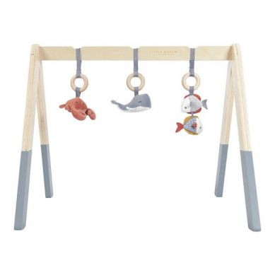 Little Dutch - Pałąk Baby Gym Ocean Błękit