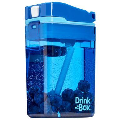 Drink In The Box - Bidon ze Słomką 240ml Blue