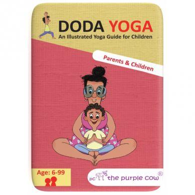 The Purple Cow - Karty Doda Yoga  - Rodzice i Dzieci (wersja ang.)