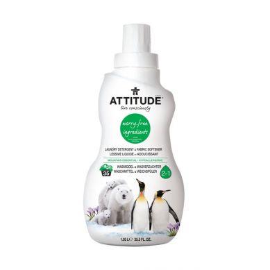 Attitude - 2 w 1 Płyn do Prania i Płukania Górska Świeżość 35 Prań - 1040 ml