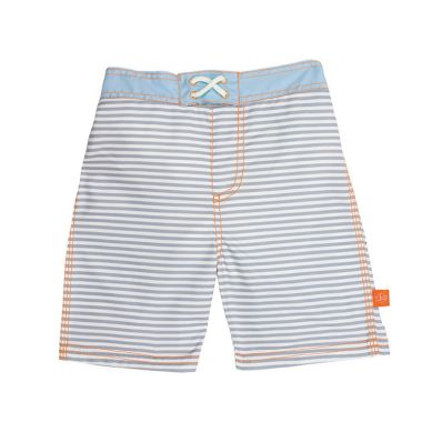 Lassig - Spodenki do Pływania z Wkładką Chłonną  Small Stripes UV 50+ 6m+