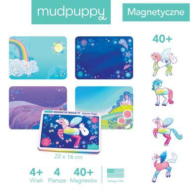 Mudpuppy - Magnetyczne Konstrukcje Magiczne Jednorożce