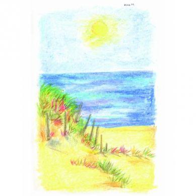 Crayon Rocks - Kredki 20 Kolorów w Woreczku Seaside