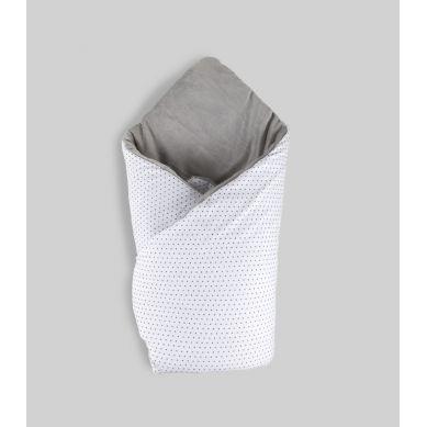 Muzpony - Dwustronny, Mięciutki Rożek Milky Grey
