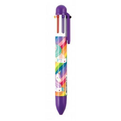 Ooly - 6 w 1 Długopis Mechaniczny Jednorożce Fioletowy
