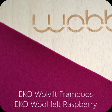 Wobbel - Deska do Balansowania Original z Filcem Raspberry