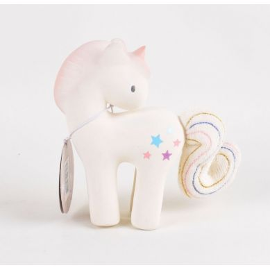 Tikiri- Gryzak z Grzechotką Jednorożec Candy w Pudełku 0m+