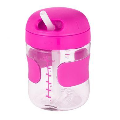 OXO - Bidon ze Słomką 9+ Pink 200 ml