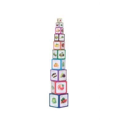 Piramida Zabaw - Owoce i Warzywa 1+