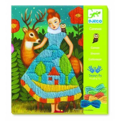 Djeco - Zestaw Artystyczny Magiczne Sukienki