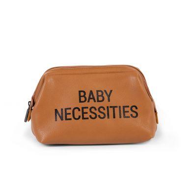 Childhome - Kosmetyczka Baby Necessities Leopard Brązowa