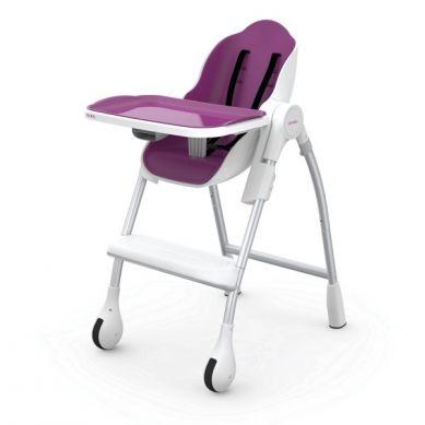 Oribel - Krzesełko do Karmienia Cocoon Śliwka