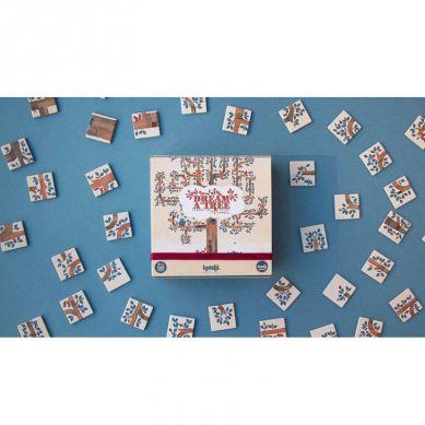 Londji - Gra dla Dzieci Typu Domino Wersja Kieszonkowa Dream A Tree