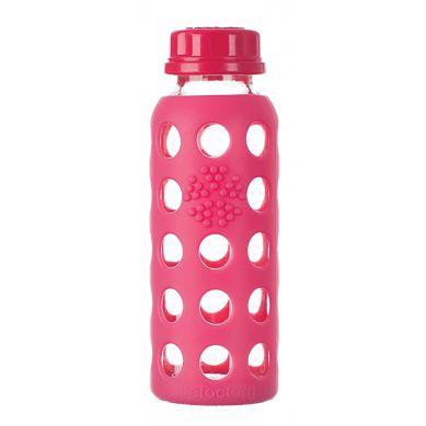 Lifefactory - Butelka Szklana dla Dzieci 250ml Raspberry