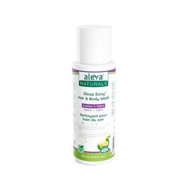 Aleva Naturals - Sleep Easy Żel do Mycia Ciała 60ml