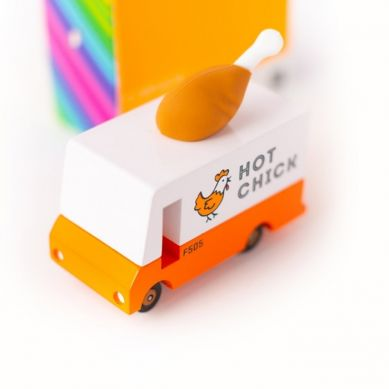 Candylab - Samochód Drewniany Fried Chicken Van