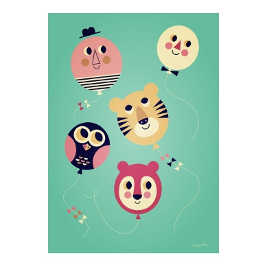 OMM Design - Plakat Balony Buźki