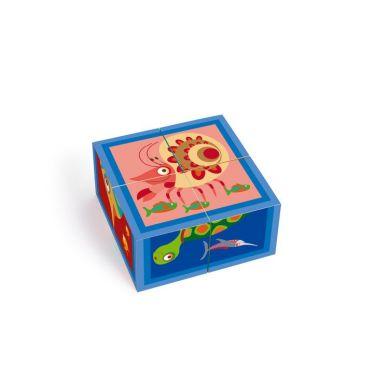Scratch - Puzzle 4 Klocki Ocean 18m+