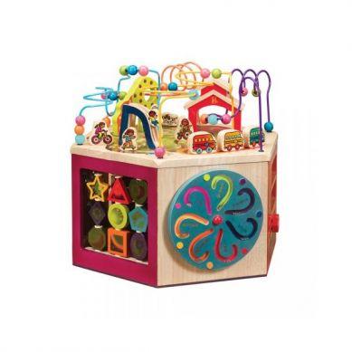 B. Toys - Olbrzymia Drewniana Kostka Edukacyjna
