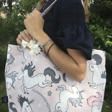 La Millou - Shopper Bag by Maja Bohosiewicz Unicorn Sugar Bebe