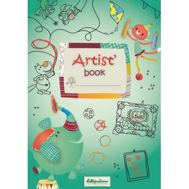 Lilliputiens - Artist Books Kolorowanka Cyrk