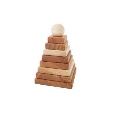 Wooden Story - Piramida Naturalna Kwadratowa