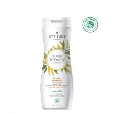 Attitude - Szampon Oczyszczający z Cytryną i Białą Herbatą 473 ml