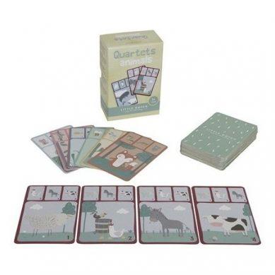 Little Dutch - Gra w Karty Kwartetu - Zwierzęta