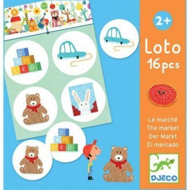 Djeco - Gra Edukacyjna Lotto Market